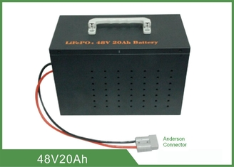 Light Weight Deep Cycle Lithium Battery 48V 20Ah High Discharge Rate No Memory Effect