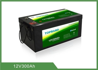 Low temperature 12V 300Ah Lithium Iron Phosphate Battery ,  over 2000 cycles